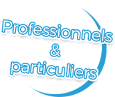 professionnels et particuliers